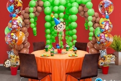 Jungle Theme Balloons for Birthday