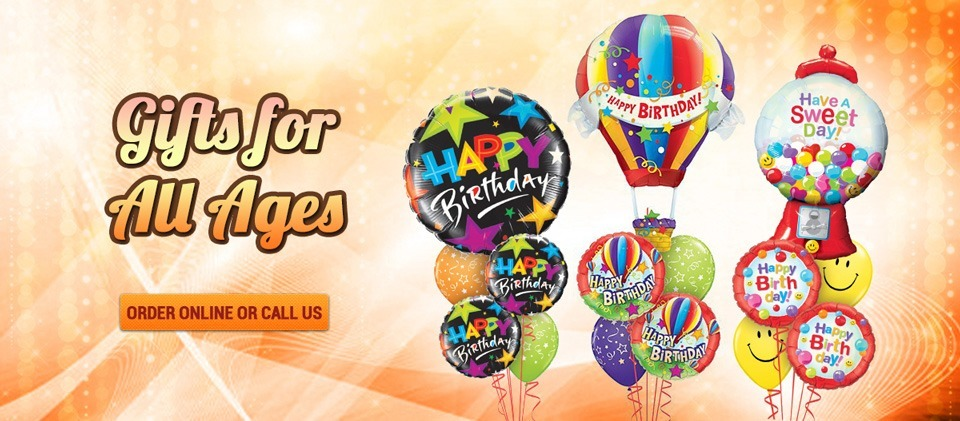 Birthday Balloon Bouquets Central Coast