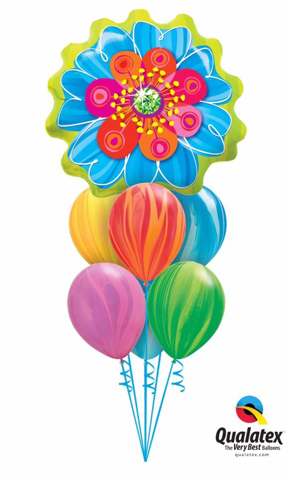Big and Beautiful Bloom Balloon Bouquet