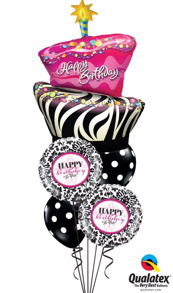 Cakes And Kisses Balloon Bouquet