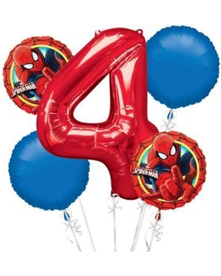 Celebrate With Spiderman Balloon Bouquet