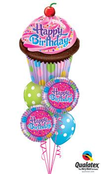 Sprinkles And Sparkles Balloon Bouquet