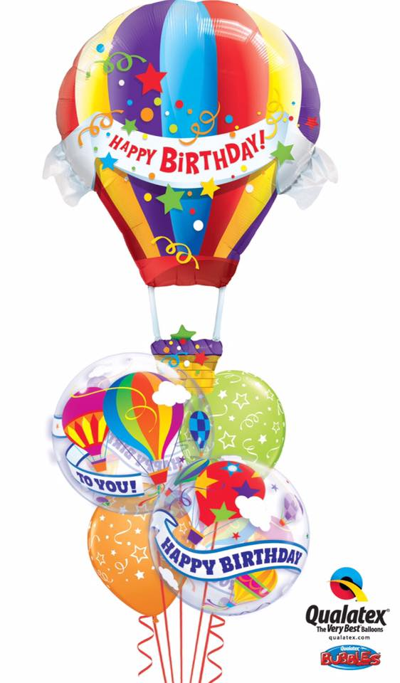 Up, Up And Away Balloon Bouquet
